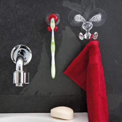 Набор держателей для зубных щёток на присоске tommy, разноцветный