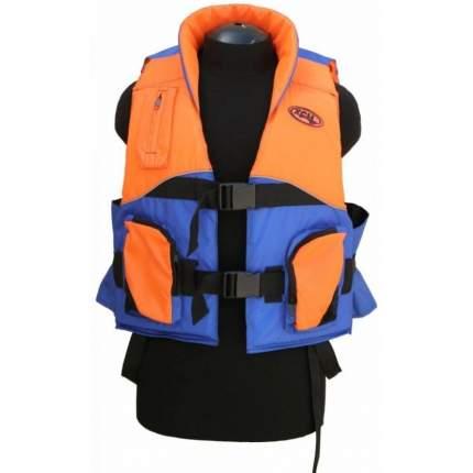 Спасательный жилет ХСН Водник, синий/оранжевый, 4XL/5XL