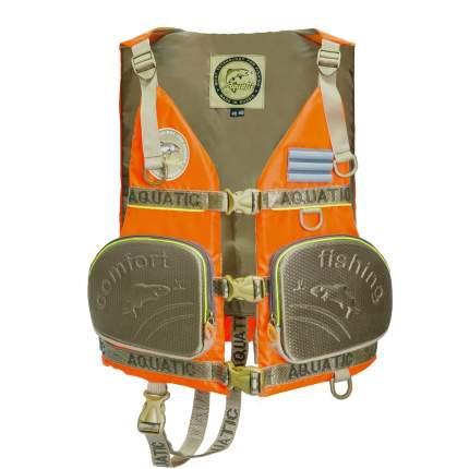 Спасательный жилет Aquatic ЖС-03О, оранжевый, 3XL