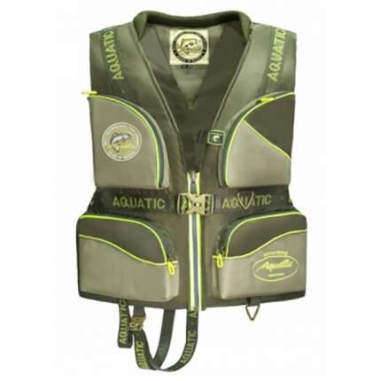 Спасательный жилет Aquatic ЖС-02Х, хаки, XL