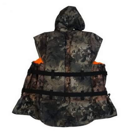 Спасательный жилет Extreal Камо, камуфляж/оранжевый, 3XL