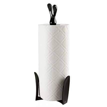 Держатель бумажных полотенец 'Кролик Роджер', чёрный