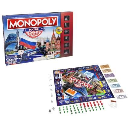 Экономическая настольная игра Монополия Россия (новая уникальная версия) Monopoly b7512