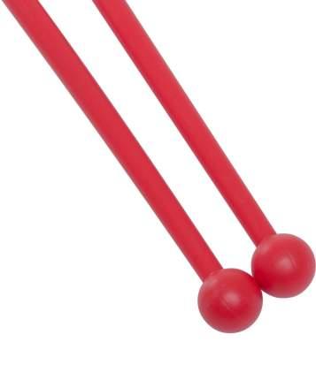 Булавы для гимнастики У714 35 см, красные
