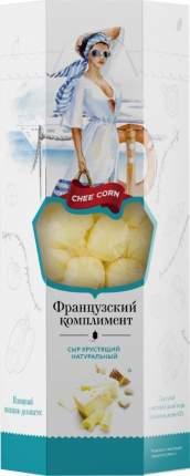 Сыр Сheecorn сухой хрустящий Французский комплимент 40% натуральный 40 г
