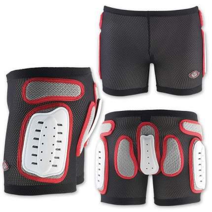 Защитные Шорты Nidecker 2020-21 Padded Plastic Shorts White/Red (Us:xl)