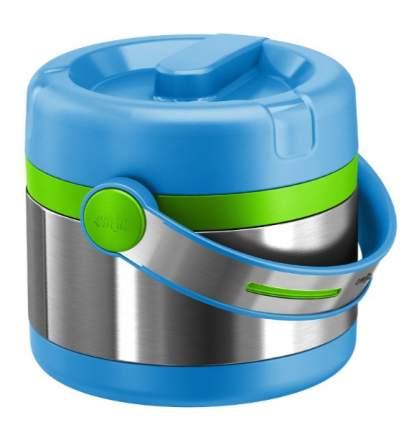 Термос д/ланча MOBILITY KIDS 0,65л голубой/зеленый, Emsa