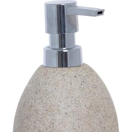 Дозатор для жидкого мыла Arena Stone 350мл бежевый, Dcasa