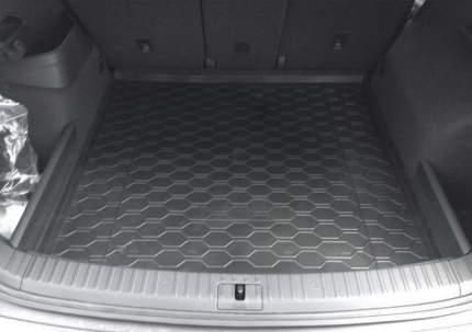 Коврик багажника Rival для Skoda Kodiaq (5 мест) 2017-н.в., полиуретан, 15105002
