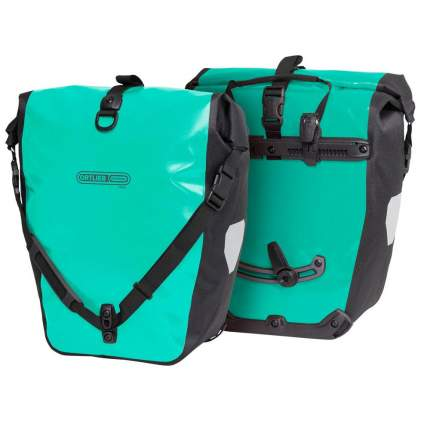 Велосипедная сумка Ortlieb Back-Roller Free зеленая