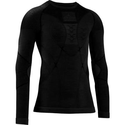 Термолонгслив X-Bionic Apani® 4.0 Merino Shirt Round Neck Lg Sl Men, black/black, XXL