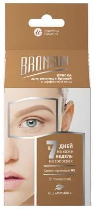 Набор для домашнего окрашивания Innovator Cosmetics Bronsun Светло-коричневый 1 шт