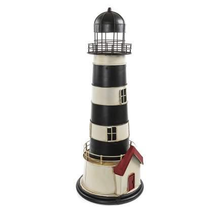 "Предмет декора в морском стиле ""Маяк"" с LED подсветкой 62 см, Металл"