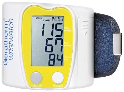 Тонометр Geratherm Wristwatch KP 6130 автоматический на запястье желтый
