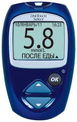 Глюкометр OneTouch Select (№25 тест-полосок в подарок)