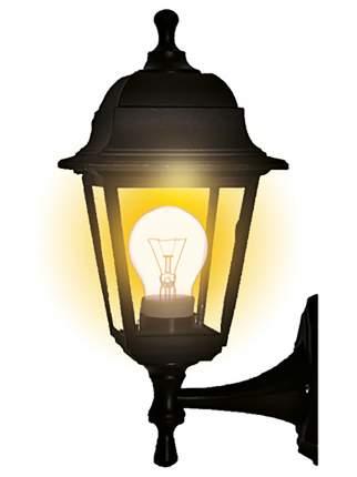 Светильник садово-парковый duwi Basis бра вверх/вниз 380мм,60W,черный,прозрачное,пластик