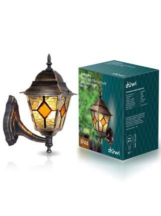 Светильник садово-парковый Crespo бра вверх 400мм,100W,цветная мозаика,черное золото, düwi