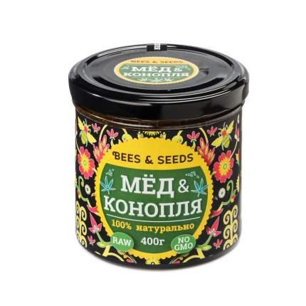 Медовый урбеч Мед и конопля помогает сбросить вес и омолаживает организм  400 г