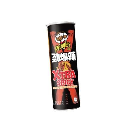 Чипсы Pringles с острым раком и сычуаньским соусом, 110г,туба