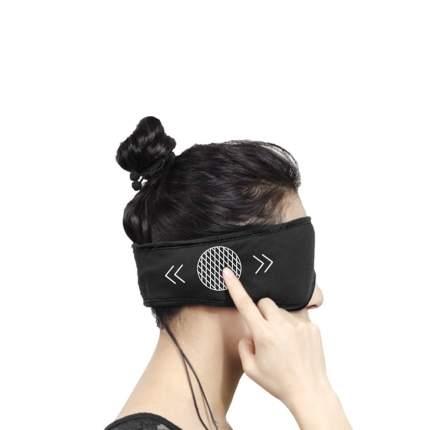 Маска для сна SleepAce Smart Headphone черная XL