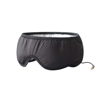 Маска для сна SleepAce Smart Headphone черная L