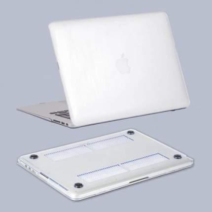 Чехол HardShell Case Crystal для Apple MacBook 13 Air Прозрачный