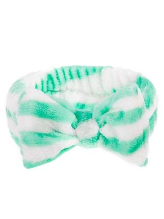 Повязка для волос Verona Glory, бело-зеленые полосы