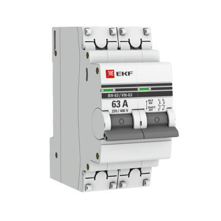 Выключатель EKF SL63-2-63-pro