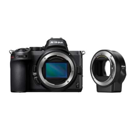 Фотоаппарат системный Nikon Z5 Body FTZ Adapter Black