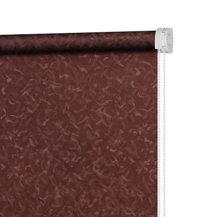 Рулонная штора Decofest Миниролл Айзен Марсала 60x160 160x60 см