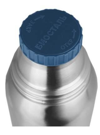 """1000-NBА Термос """"Биосталь-ОХОТА"""" с узким горлом, 2 чашки, 1 л"""