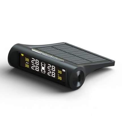 Беспроводной датчик давления в шинах авто (с дисплеем на солнечной батарее) (4284)