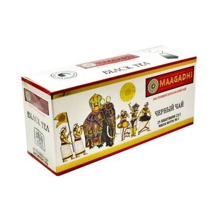 Чай Маагади 25 пакетов черный