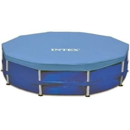 Тент для каркасного бассейна INTEX Round Metal Frame Pool Cover 305 см. (28030)