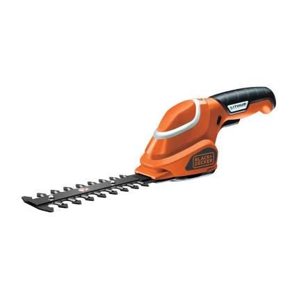 Аккумуляторные садовые ножницы Black+Decker GSL 300-QW