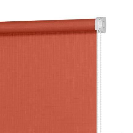 Рулонная штора Decofest Миниролл Апилера Коралловый 100x160 160x100 см