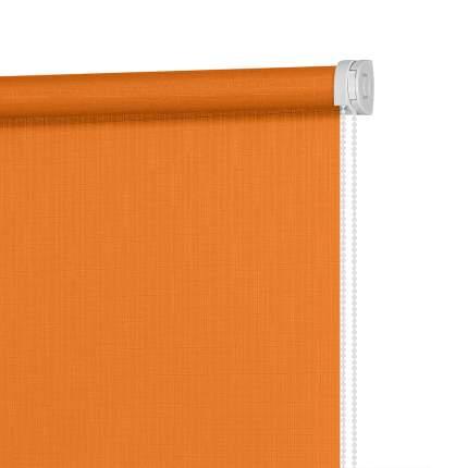 Рулонная штора Decofest Миниролл Апилера Оранжевый 100x160 160x100 см