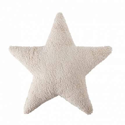 Подушка Lorena Canals Звезда Star бежевый