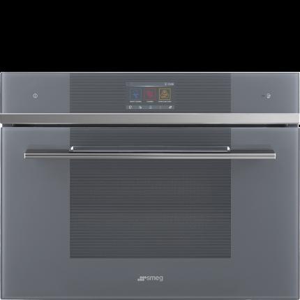 Встраиваемый электрический духовой шкаф Smeg SF4104WMCS Silver