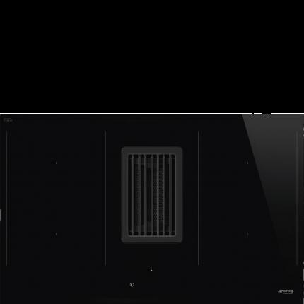 Встраиваемая индукционная панель Smeg HOBD482D Black