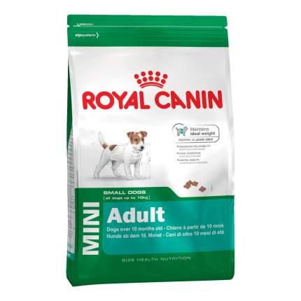 Сухой корм для собак ROYAL CANIN Adult Mini, рис, птица, 2кг