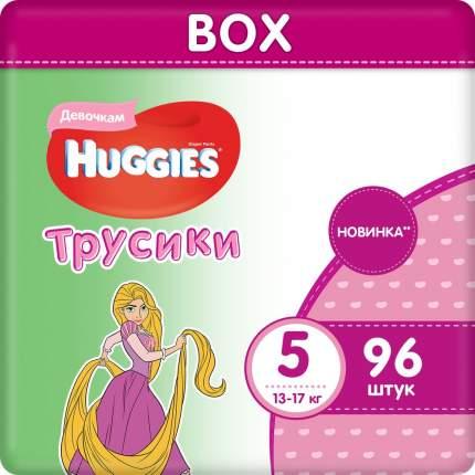 Подгузники-трусики Huggies для девочек 5 (13-17 кг), 96 шт.