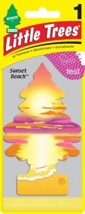 CAR FRESHNER ароматизатор Ёлочка Сансет Бич (Sunset Beach)