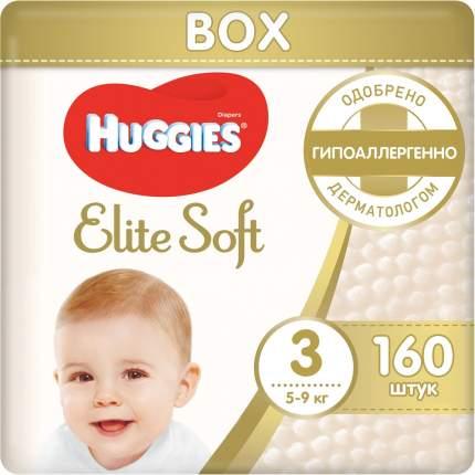 Подгузники Huggies Elite Soft 3 (5-9 кг), 160 шт.