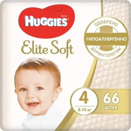 Подгузники Huggies Elite Soft 4 (8-14 кг), 66 шт.