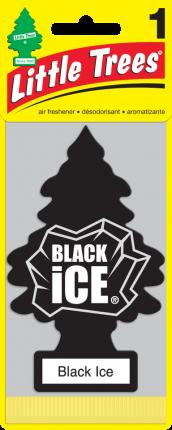 CAR FRESHNER ароматизатор Ёлочка Черный лед (Black Ice)