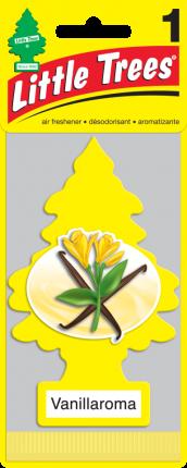 CAR FRESHNER ароматизатор Ёлочка Аромат ванили (Vanillaroma)