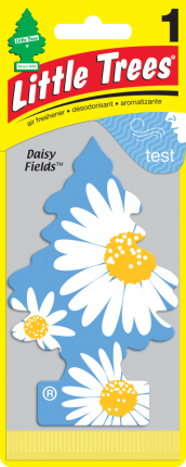 CAR FRESHNER ароматизатор Ёлочка Ромашковые поля (Daisy Fields)