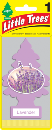 CAR FRESHNER ароматизатор Ёлочка Лаванда (Lavender)