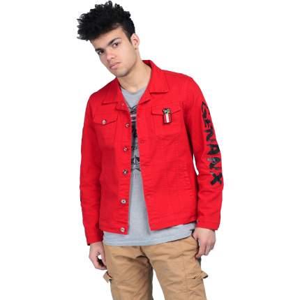 Джинсовая куртка мужская MOAV MV-JCT12-16 красная XL